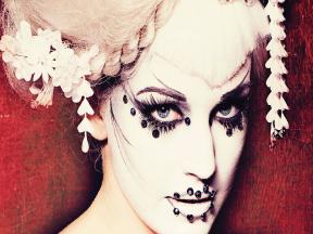 A White Geisha