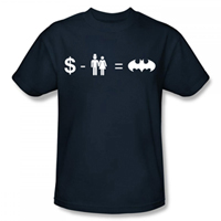 BATMAN Equation EXCLUSIVE Adult T-Shirt