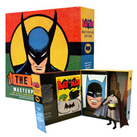 BATMAN Masterpiece Edition Action Figure, Comic, and Hardcover Book Set