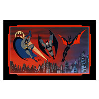 Batman...and Beyond Limited Edition Art
