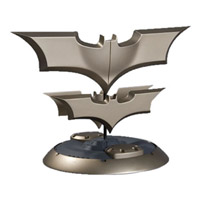 BATMAN The Dark Knight Batarangs Prop Replica