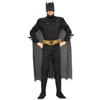 BATMAN The Dark Knight: Deluxe Muscle Chest Adult Costume