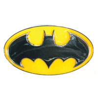 BATMAN Logo Enameled Belt Buckle