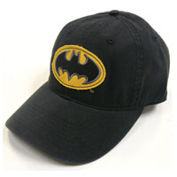 BATMAN Logo Adjustable Velcro Hat