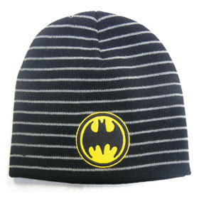 BATMAN Striped Knit Beanie