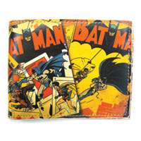 BATMAN Comic Panel Bi-Fold Wallet