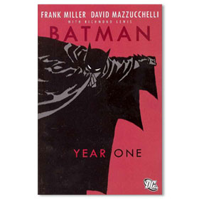 BATMAN YEAR ONE DELUXE Softcover Graphic Novel