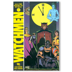 WATCHMEN Hardcover Graphic Novel