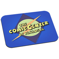 The Comic Center of Pasadena Mouse Pad