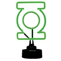 GREEN LANTERN Mini Neon Sign