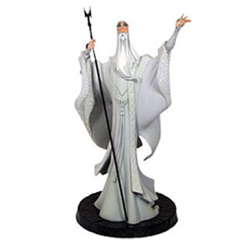 The Lord of the Rings Saruman Animaquette