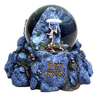 The Lord of the Rings Gollum Encounter Snow Globe