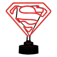 SUPERMAN Mini Neon Sign
