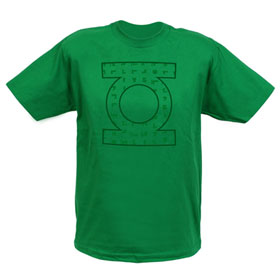 GREEN LANTERN Equations EXCLUSIVE Adult T-Shirt