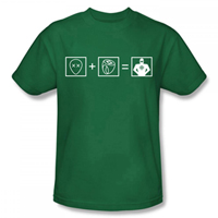 GREEN LANTERN Equation EXCLUSIVE Adult T-Shirt