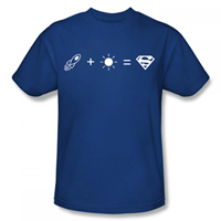 SUPERMAN Equation Boxes EXCLUSIVE Adult T-Shirt