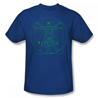 SUPERMAN Vitruvian EXCLUSIVE Adult T-Shirt
