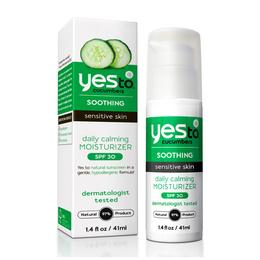 Yes to Cucumbers Daily Calming Moisturizer with SPF 30