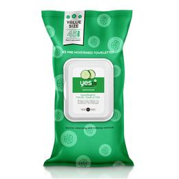 Yes to Cucumbers 45ct Facial Towelettes - VALUE SIZE!