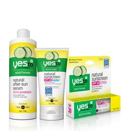 Yes to Cucumbers Suncare Bundle - Save 35%!