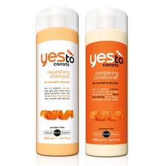 Yes to Carrots Daily Pampering Hair Care Regimen -- Save 12%! Image