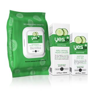 Yes to Cucumbers Sensitive Skin Care Regimen -- Save more than 10%! Image