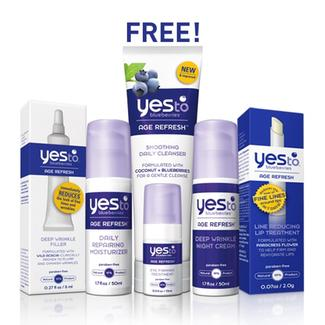 Yes to Blueberries Clinical Age Refresh Regimen Image