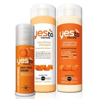 Yes to Carrots Fantastically Frizz-Free Hair -- Save more than 25%! Image