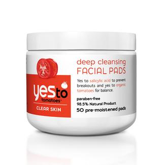 Yes to Tomatoes Deep Cleansing Facial Pads Image