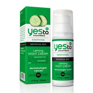 Yes to Cucumbers Calming Night Cream Image
