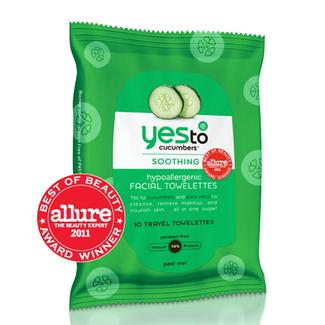 Yes to Cucumbers On-The-Go Facial Towelettes Image