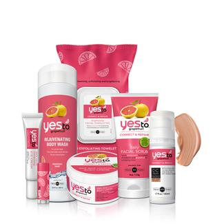 Yes to Grapefruit Head-to-Toe Bundle of Glow - (Light/Medium) Image