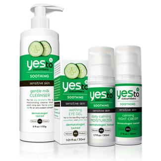 Your Yes to Recipe: Sensitive Skin Bundle Image