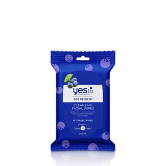 Yes to Blueberries Travel Cleansing Wipes - 10 ct Image
