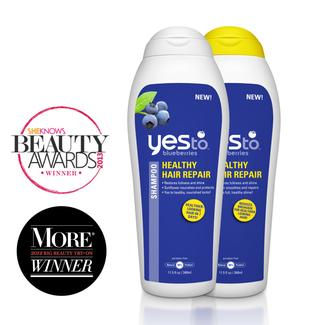 Yes to Blueberries Healthy Hair Repair Regimen Image