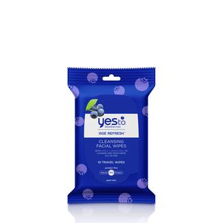Yes to Blueberries Travel Cleansing Wipes Image