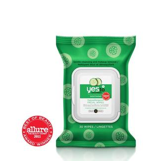 Yes to Cucumbers Facial Wipes - 30ct Image