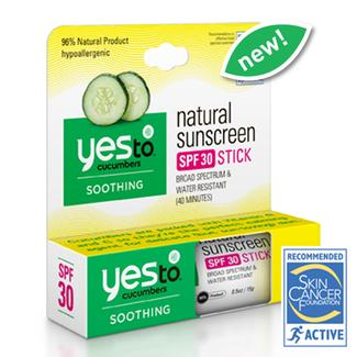 Yes To Cucumbers Natural Sunscreen SPF 30 Stick Image