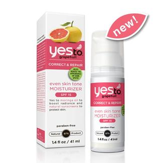 Yes to Grapefruit Even Skin Tone Moisturizer with SPF 15 Image