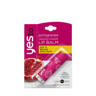 Pomegranate SPF 15 Naturally Smooth Lip Balm Image