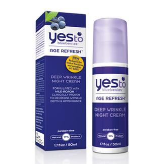 Yes to Blueberries Deep Wrinkle Night Cream Image