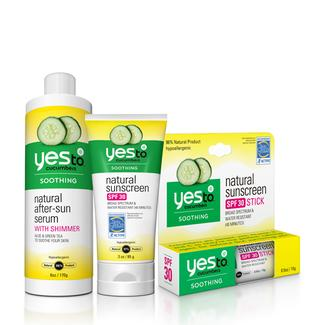 Yes to Cucumbers Suncare Bundle Image