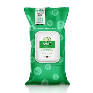 Yes to Cucumbers 45ct Facial Wipes - VALUE SIZE! Image