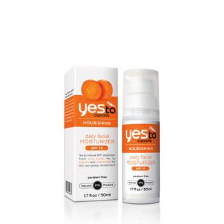 Yes to Carrots Daily Facial Moisturizer with SPF 15 Image