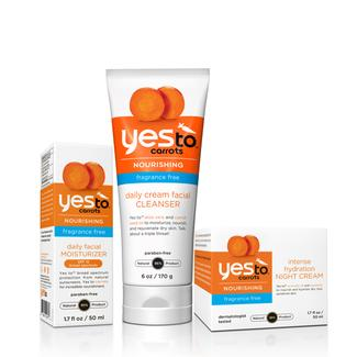 Yes to Carrots Fragrance Free Trio Image