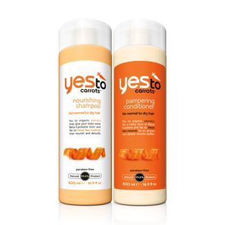 Yes to Carrots Daily Pampering Hair Care Regimen Image