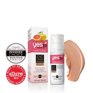 Yes to Grapefruit Color Correcting Tinted Moisturizer - Light/Medium Image