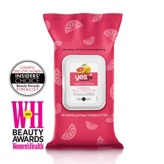 Yes to Grapefruit Brightening Facial Wipes Image