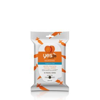 Yes to Carrots Fragrance-Free Travel Wipes - 10 ct Image