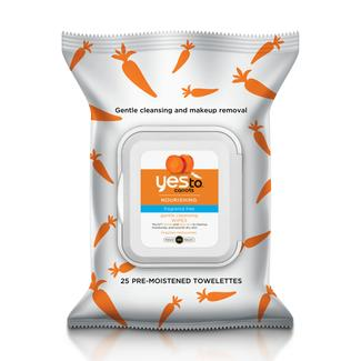 Yes to Carrots Fragrance-Free Wipes Image